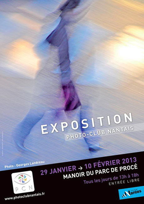 affiche exposition Photo club nantais