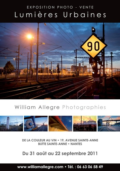 affiche exposition photo William Allègre
