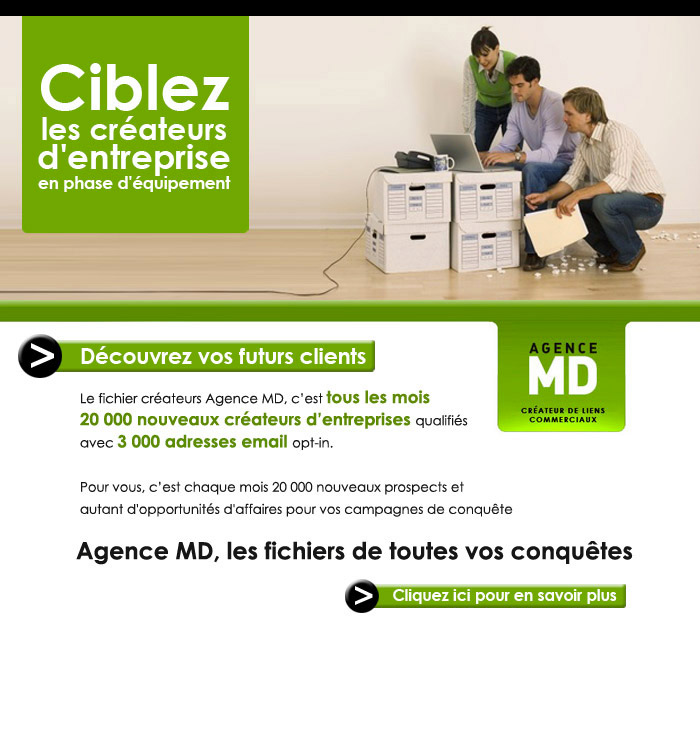 emailing Agence MD